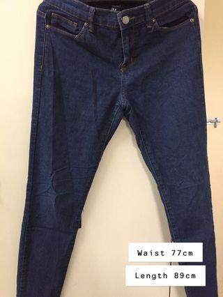 Forever 21 denim jeans #JuneToGo