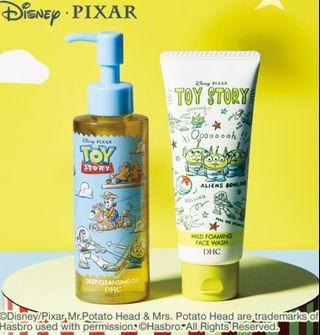 dhc toy story 皇牌oil cleansing 卸妝油 洗面奶