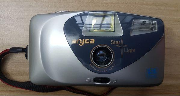 Aryca Star Light Big Finder 35mm Film camera FOR REPAIR