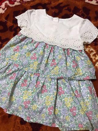 BabyGap Tiered Eyelet Dress