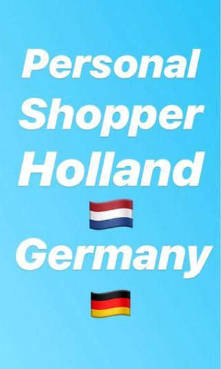 Personal shopper Holland Netherlands n germany lush and other brands