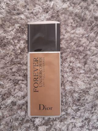 Dior Forever Undercover Foundation Sample Medium Beige