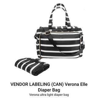Like new Verona Elle diaper bag