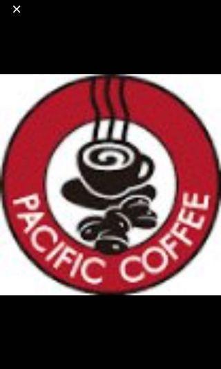 Pacific Coffee $10電子咖啡現金券(QR code即買即用)