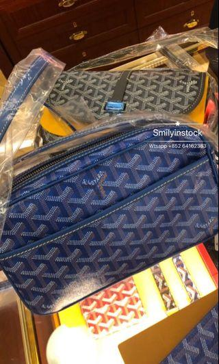 Goyard Blue Camera Bag