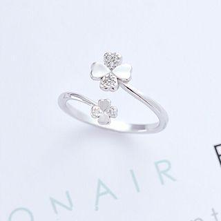 🚚 925純銀可調式戒圍戒指