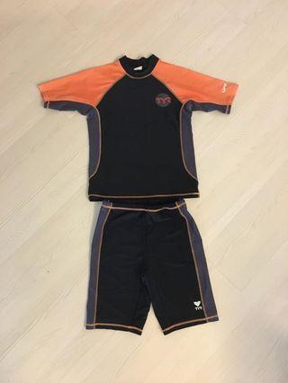 TYR Boys' swimsuit (size 12 or 145 cm)