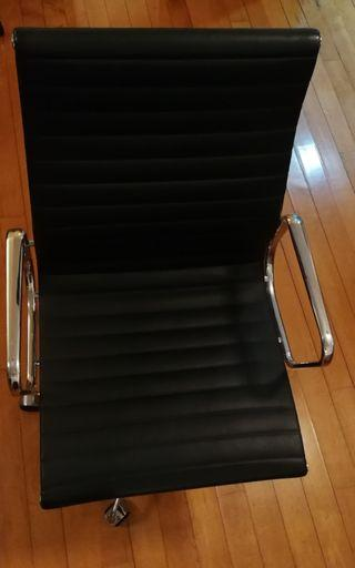 Eames style  chair genuine leather