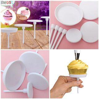 Cupcake & Icing Piping Plastic Nail Tools