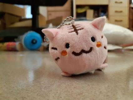 🚚 粉紅小老虎吊飾