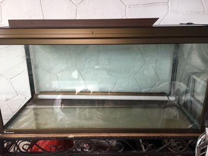 Akvastabil Fish tank with custom made stand