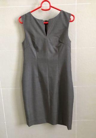 🚚 Grey Work Sheath Dress