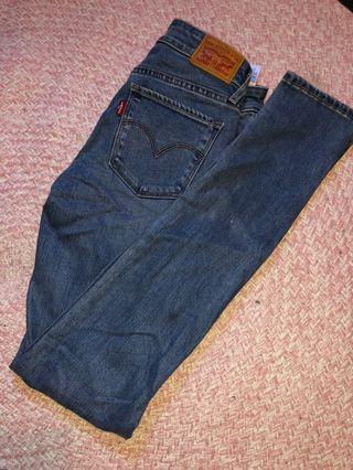 New Levi skinny jeans