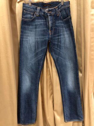 Nudie Jeans Thin finn used dark shadow 31x30