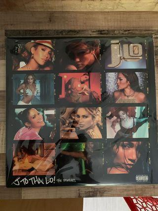 Jennifer Lopez - J to tha Lo limited edition US blue double LP vinyl