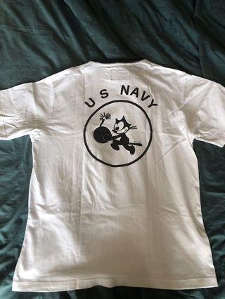 Us american military ringer tshirt xl