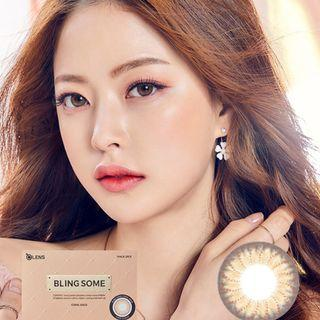 Korean Olens Blingsome Coral Gold Lens