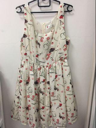 Floral Dress (L)