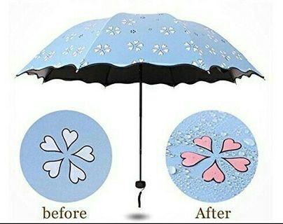 Payung Lipat Berubah Warna