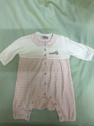 Lovely Lace Baby Romper