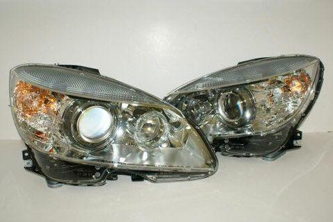 C180 W204 Pre-Facelift Headlights for Rent