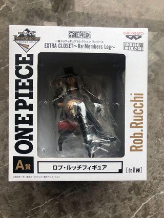 全新 一番賞 A賞 One Piece Rob Rucchi 羅布 路基