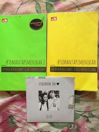 #SociollaCarousell Novel Teman tapi Menikah (Bertandatangan+album)