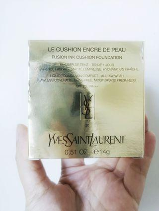YSL LE CUSHION ENCRE DE PEAU Yves Saint Laurent Fusion Ink Cushion Foundation