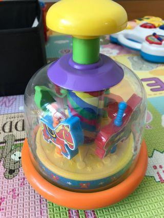 🚚 Baby Toy - spin around merry go round