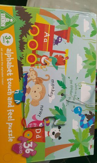 ELC alphabet touch and feel puzzle