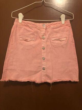 🚚 Pastel Pink Mini Skirt