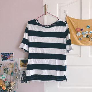 🚚 H:connect 條紋上衣