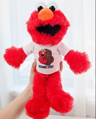 Elmo toy wear cloth