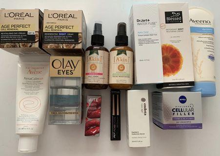 New Makeup and Skincare Set