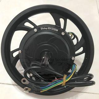 "12"" HM 60V 3200W Brushless Rear Motor Instock"