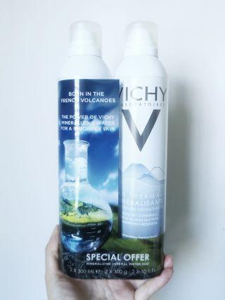 Vichy Mineralizing Thermal Water Duo Set of 2