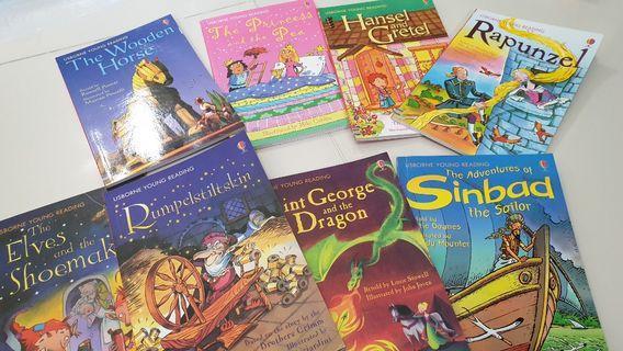 🚚 8 Usborne Young Reading books