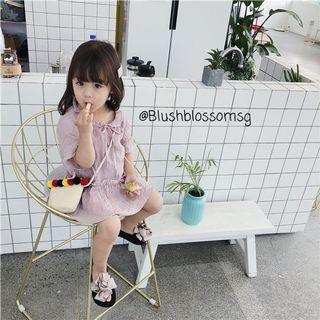 ⭐INSTOCK⭐ Ashlea Tied-Ribbon Midi Oversized Dress