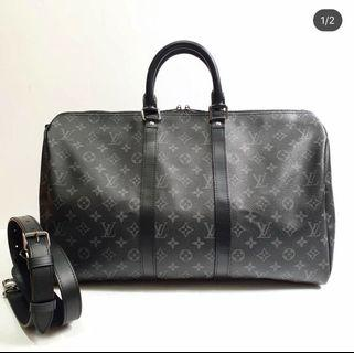 Louis Vuitton LV Keepall 45 Monogram Eclipse