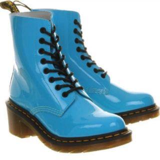 Dr Martens x Clemency Boots (Sunny Blue)