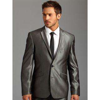 Silver Wedding Suit Rental