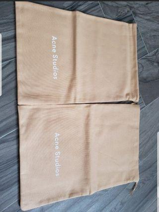 Acne Studios dust bag for shoes