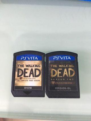 Ps Vita Games Walking Dead *No box