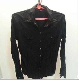 🚚 Esprit Black Blouse