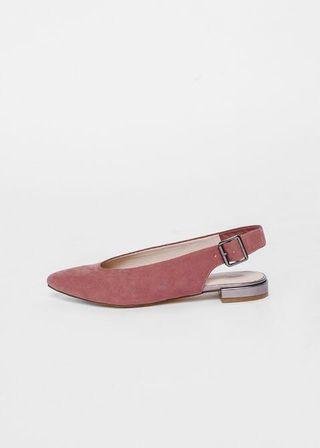 Pointed Slingback Flats