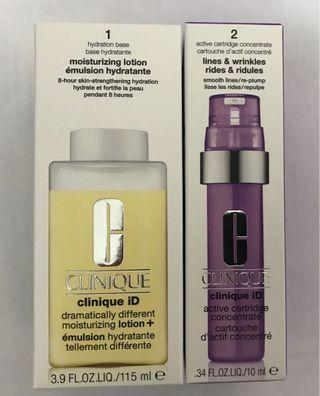 Clinique ID Dramatically Different Moisturizing Lotion Lines and Wrinkles