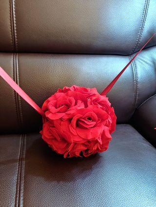 結婚 欄門花球 接新娘 婚後物資