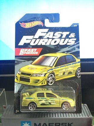 🚚 Hotwheels Mitsubishi Lancer Evolution