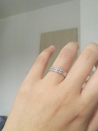 925 Silver staring ring