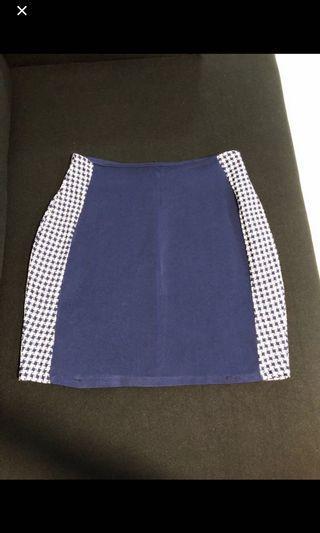 MDS Skirt navy blue size s